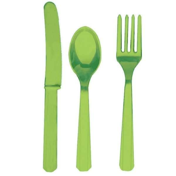 Amscan-Internacional-de-Cuchillera-Green-Kiwi-paquete-de-24-B002W866G0