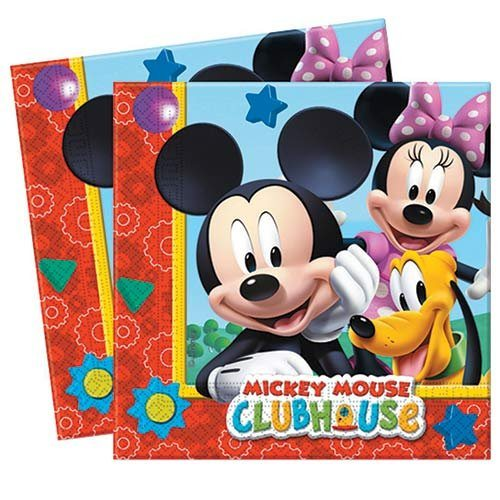 Amscan-International-Servilletas-infantiles-diseo-de-Mickey-Mouse-B00C7L1Q26