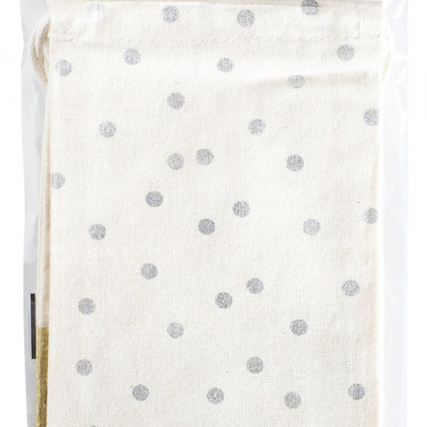 DIY-Shop-3-Muslin-Treat-Bags-4X65-2Pkg-Silver-Gold-Accents-B015R1DQWA