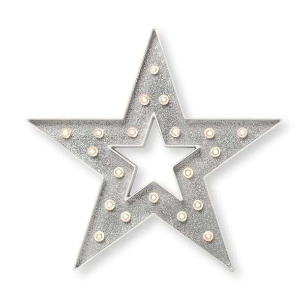 Estrella Grande con Luces