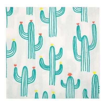 servilletas cactus