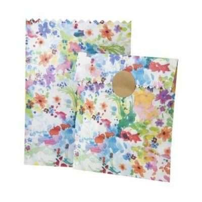 Bolsas papel Flores Boda