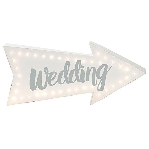Talking-Tables-Party-iluminacin-decorativa-tarjeta-LED-boda-seal-Multicolour-185-x-43-x-55-cm-B01AWX20NY