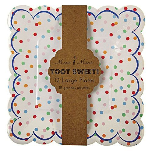 Toot-Sweet-Spotty-Party-Plates-Pack-of-12-B00CFH2GF8